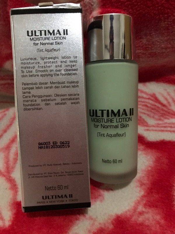 Ultima II Moisture Lotion for Normal Skin (Tint Aquafleur)