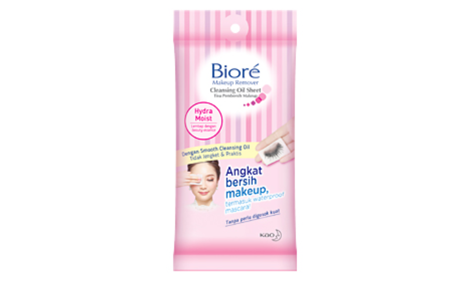 Biore Make Up Remover Cleansing Oil Sheet Refill