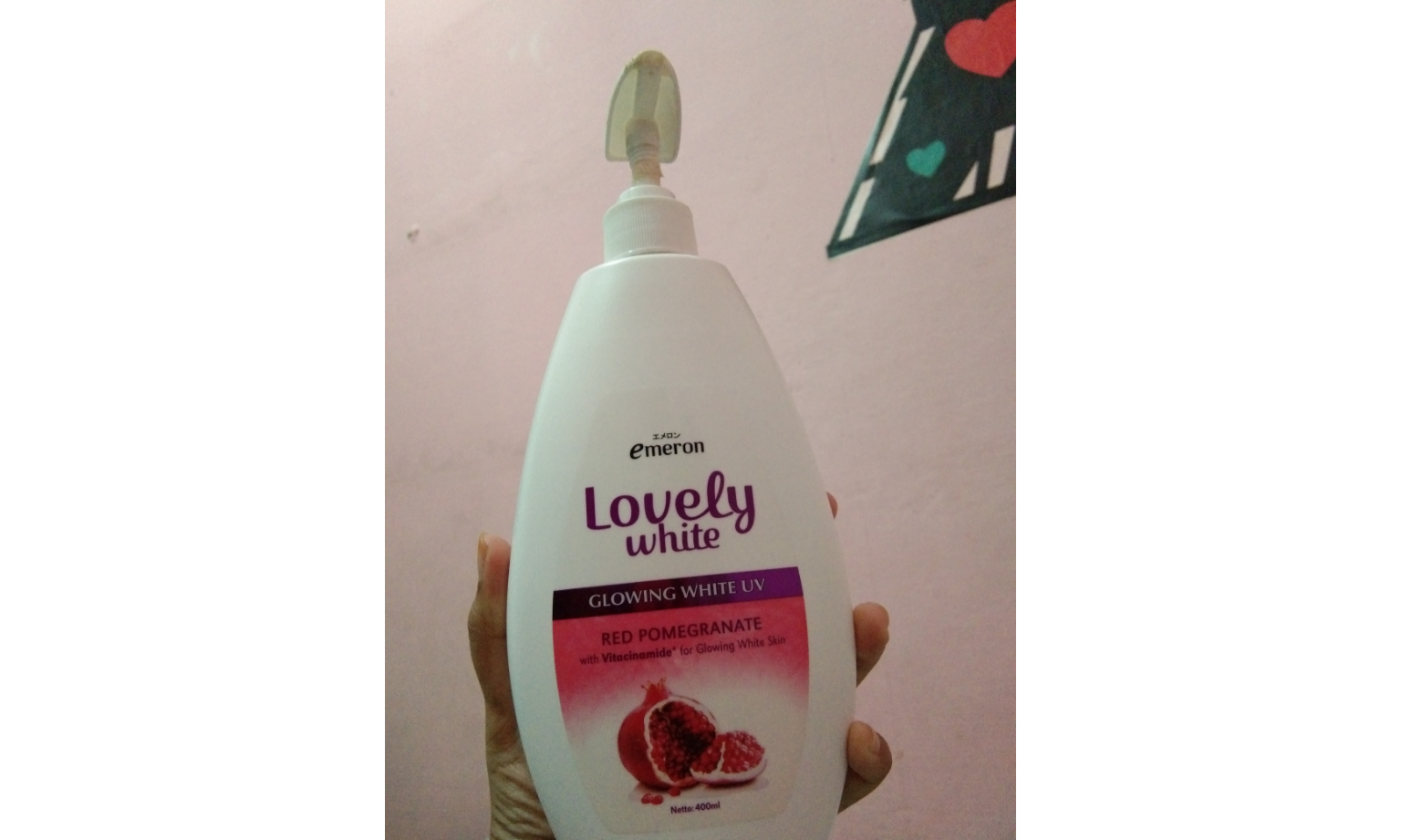 Emeron Lovely Glowing White Body Lotion