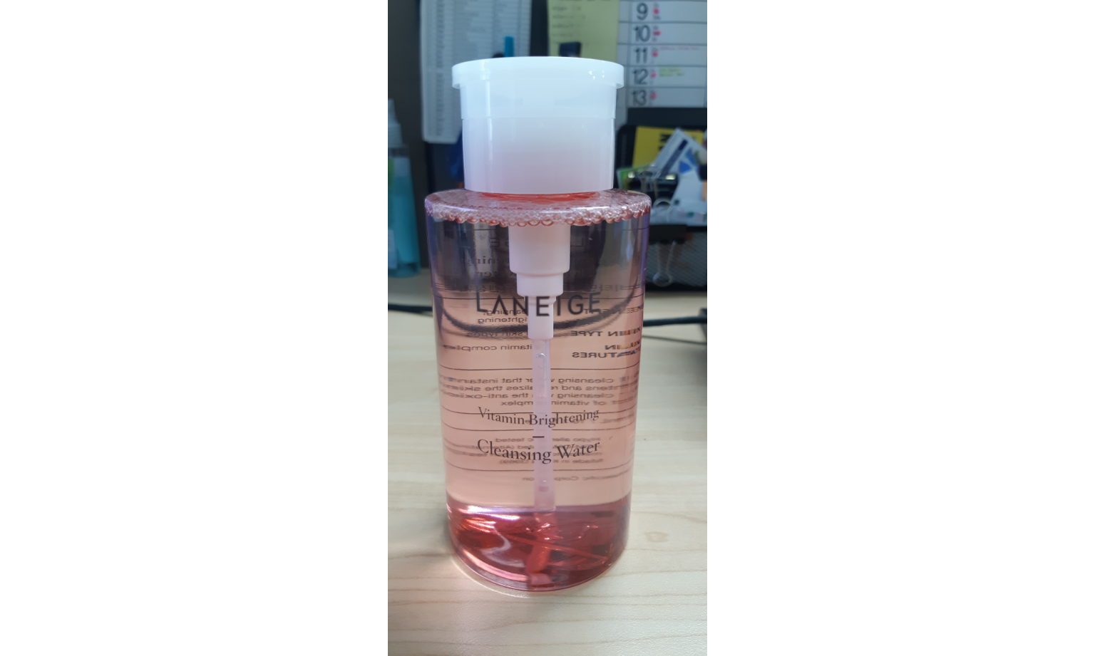 Laneige Vitamin Bright Cleansing Water + Gift