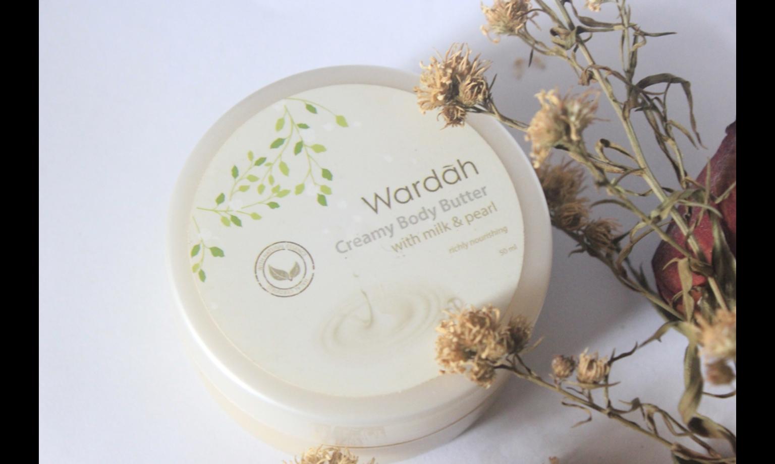 Wardah Creamy Body Butter Milk & Pearl