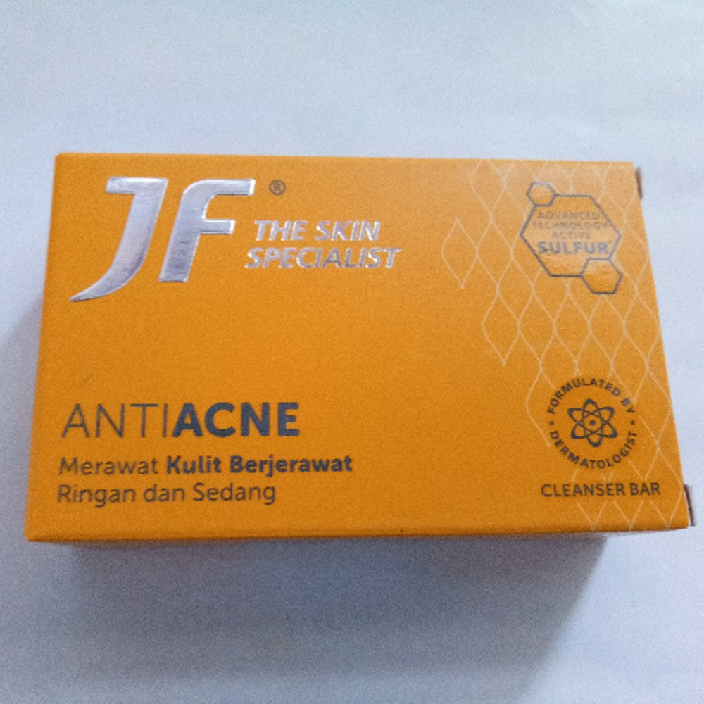 Jf The Skin Specialist Anti Acne Review Soco By Sociolla